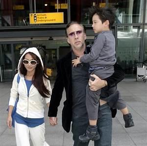 Hollywood All Stars: Nicolas Cage Family Pics