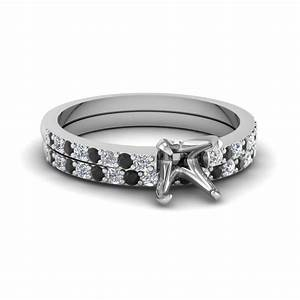 2018 popular wedding rings settings without center stone With white gold wedding ring settings without stones