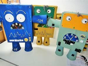Roboter Selber Bauen Für Anfänger : roboter selbst gemacht roboter diy kinder basteln pappe karton diy by ines felix ~ Watch28wear.com Haus und Dekorationen