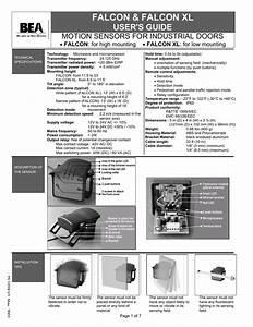 Falcon  U0026 Falcon Xl User U0026 39 S Guide Motion Sensors For