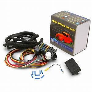 Gm  Chevy Based 12 Fuse Main Wire Harness System Hot Street