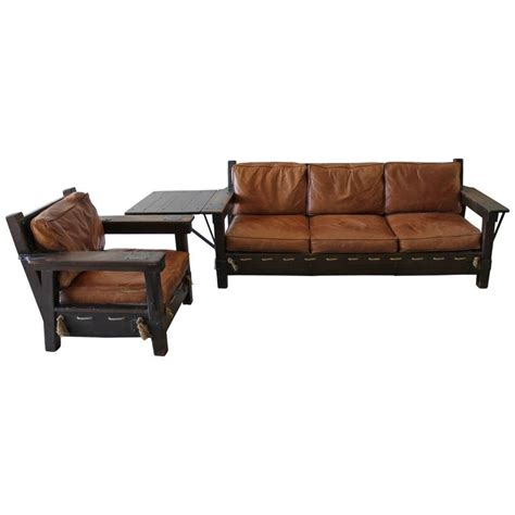 imperial sofa and matching chair for sale at 1stdibs