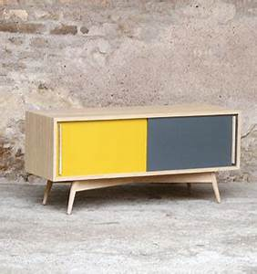 Meuble Tv Vintage : gentlemen designers meubles style scandinave made in france ~ Teatrodelosmanantiales.com Idées de Décoration