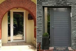 Porte Entree Maison : porte d 39 entr e alu menuiserie savoie ~ Premium-room.com Idées de Décoration