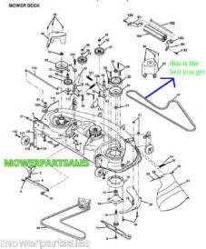 Craftsman Lt1000 Deck Belt Routing by Craftsman Lawn Mowers Wiring Diagram Craftsman Free