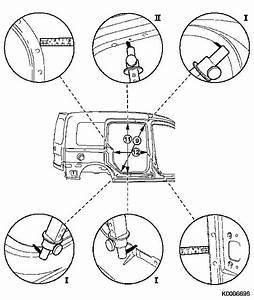 Vauxhall Workshop Manuals  U0026gt  Corsa C  U0026gt  A Maintenance  Body
