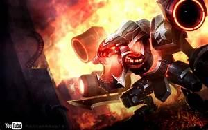 Battlecast Prime Cho'Gath - (Dreamscene HD) (wallpaper ...