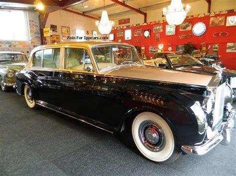 1961 Rolls Royce Phantom V Luxury Sedan Perfectly Car
