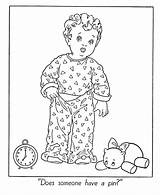 Pajamas Coloring Winter Pages Indoor Template Activities Activity Clipart Fun Drawing Pajama Colouring Printable Bed Sketch Seasons Sheets Clip Popular sketch template