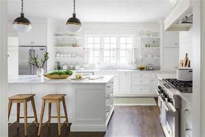 white country kitchen home improvement ideas With kitchen colors with white cabinets with 3 peice wall art