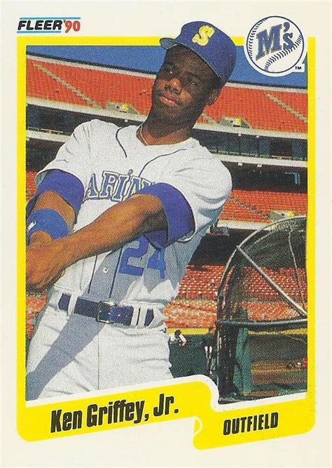 junior junkie  baseball cards  ken griffey jr