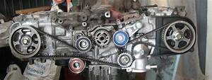 How To Set Timing  Timing Belt Change  On A Subaru Sohc