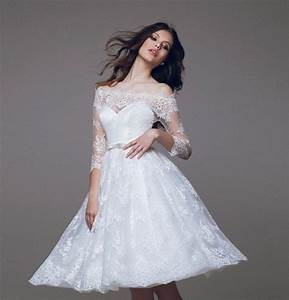 2016 new elegant off the shoulder 3 4 sleeves white lace a With 3 4 sleeve off the shoulder lace wedding dress