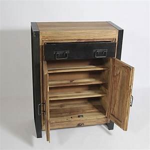 Meuble à Chaussures Original : meuble a chaussures en manguier bois ebay ~ Teatrodelosmanantiales.com Idées de Décoration