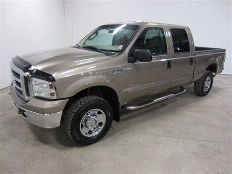 Buy used 2005 FORD F250 TURBO DIESEL XLT CREW CAB 4X4
