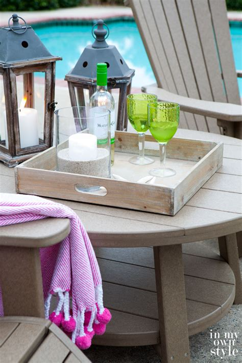 outdoor living eco chic style in my own style