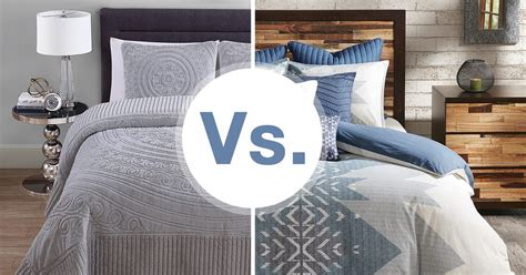 Duvet Vs Comforter Vs Coverlet by Do You Need A Bedspread Or A Comforter Overstock