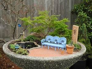 preparing for winter in the miniature garden the mini With feuerstelle garten mit mini bonsai tree
