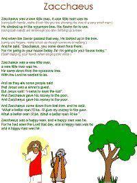 zacchaeus song pre k church preschool bible lessons 729 | c90664b00c1fae95ebf5fed1fd1f59c5