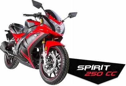 Spirit 250cc Serpento Motos Contenido
