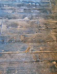Home Depot Rustic Wood Look Tile by Wood Stamped Concrete On Pinterest