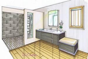 technique de dessin perspective le blog de elise fossoux With salle de bain design avec logiciel de décoration d intérieur