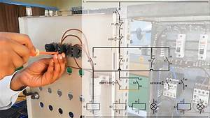 Part2 Control Circuit  Forward Reverse Wiring Circuit For Single Phase Induction Motor