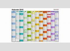 Kalender 2019 kostenlos herunterladen, personalisieren und