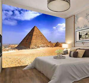 amazing egyptian pyramid full wall mural photo wallpaper