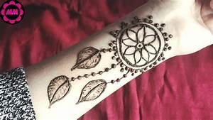 Dreamcatcher Henna Tattoo | Beautiful Dreamcatcher Mehendi ...
