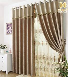 Simple curtains ideas home design for Modern curtains for living room 2018