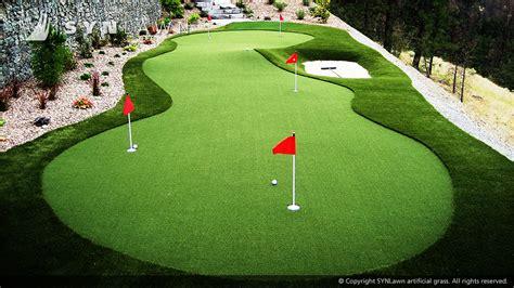 putting green size golf course artificial grass fairway grass tee lines