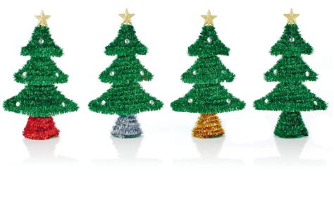 cheap large tinsel christmas tree baubles christmas