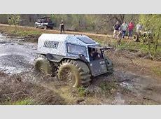 Watch Russia's Sherp ATV get stuck in Texas clay