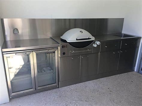 Outdoor Kitchen Cupboards by Stainless Steel Outdoor Kitchens Adelaide