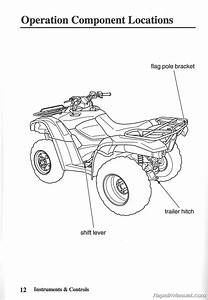 Honda Trx 420 Owners Manual 2010 Trx420fm Fpm Fourtrax