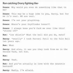 Best 25+ Drarry... Drarry Fanfiction
