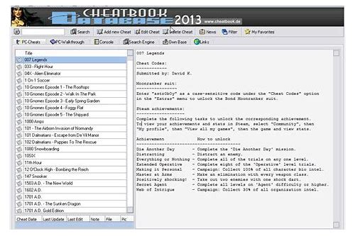 cheatbook 2014 software free download