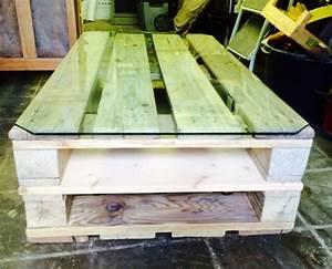 Fabriquer Une Table Basse En Palette : fabriquer une table basse en palette guide astuces ~ Melissatoandfro.com Idées de Décoration