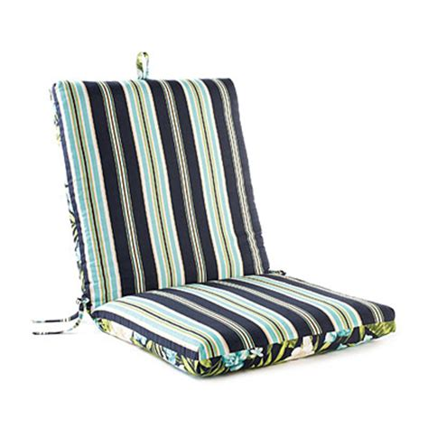 big lots chair pads leela floral stripes reversible outdoor chair cushion