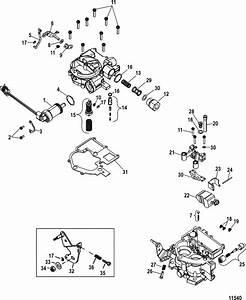 Mercruiser 4 3l Carburetor Alpha    Bravo Carburetor Parts