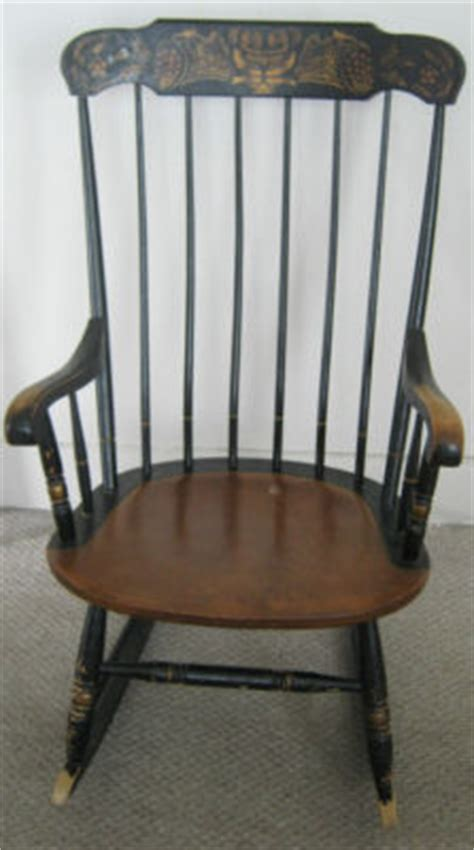 Hitchcock Rocking Chair Value by Vintage L Hitchcock Rocking Chair Antique Antique
