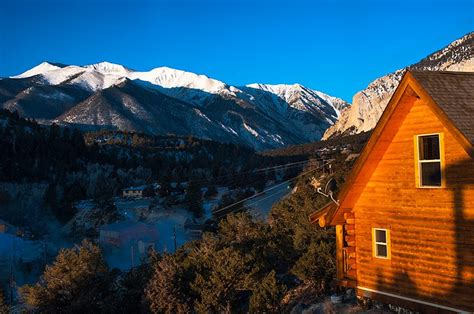 cabins  rent  mount princeton hot springs resort