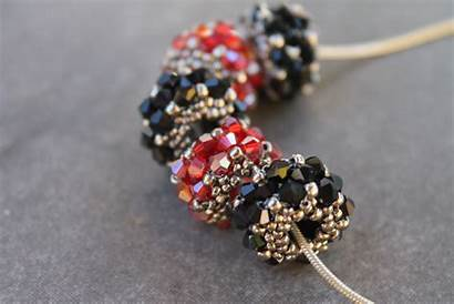 Beaded Crystal Beads Jewelry Bead Tutorial Pattern