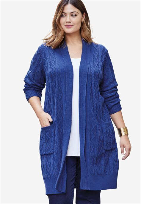 plus size cardigan sweaters plus size sweaters choosing a comfy and stylish option