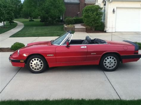 1988 Alfa Romeo Spider by Rocachi9 1988 Alfa Romeo Spider Specs Photos