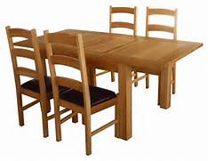 Oak Dining Table Chairs by Solid Oak Dining Table And Chairs