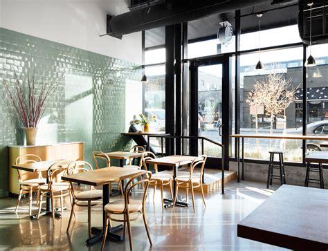 Tres cabezas berlin coffee roasters. Elm Coffee Roasters de Olson Kundig   Cafeterías - Interiores