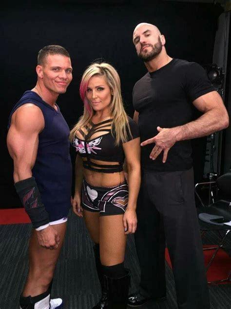 Wwe  Tyson Kidd, Natalya And Cesaro  Sport Pinterest