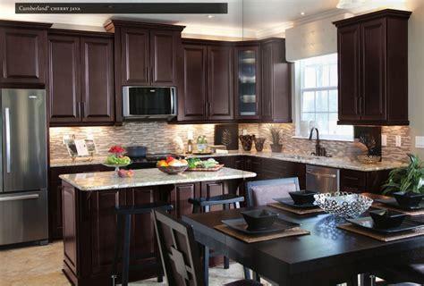 cherry kitchen cabinets cherry java cabinets home furniture design